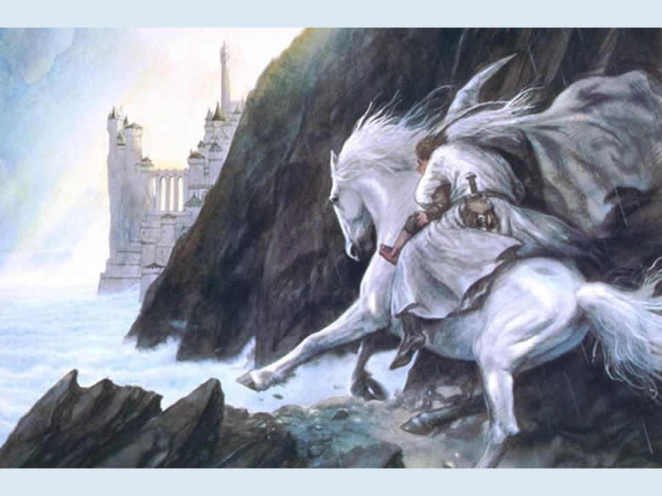 Gandalf va à Minas Tirith