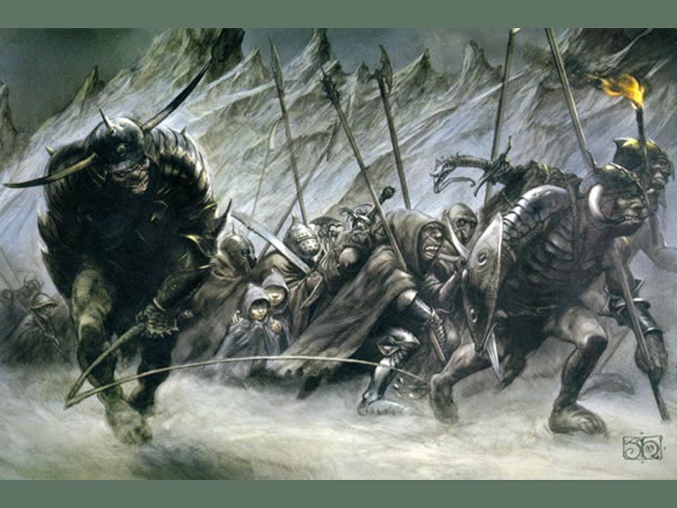 Sam et Frodon en Mordor