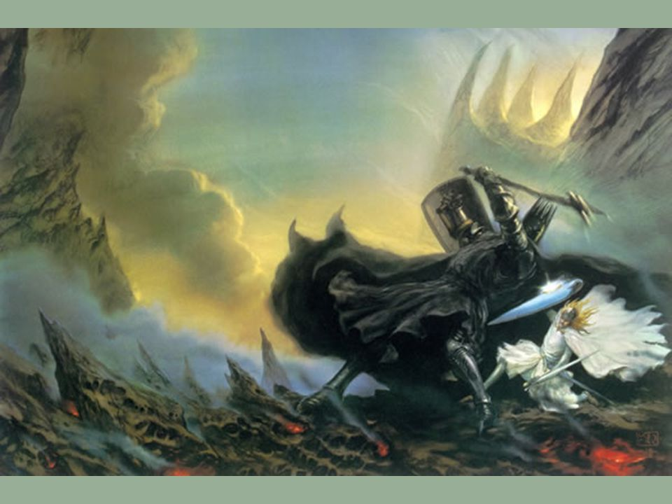 Fingolfin & Morgoth