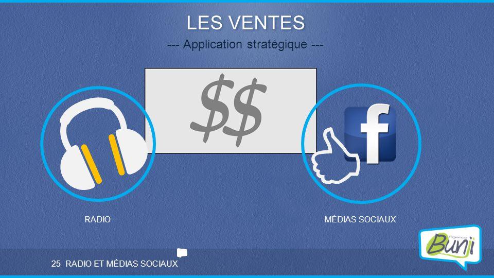 --- Application stratégique ---