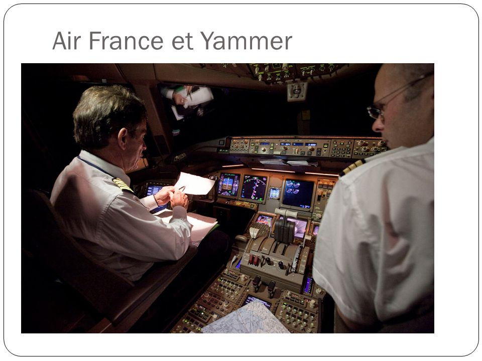 Air France et Yammer
