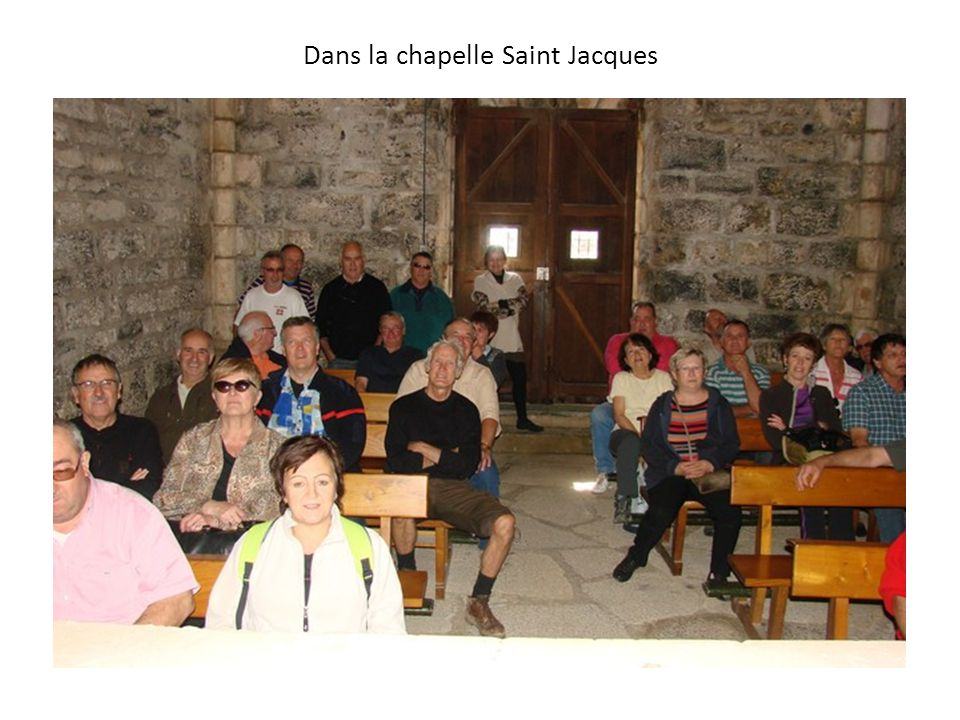 Dans la chapelle Saint Jacques