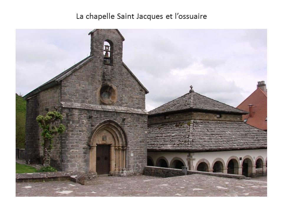 La chapelle Saint Jacques et l'ossuaire