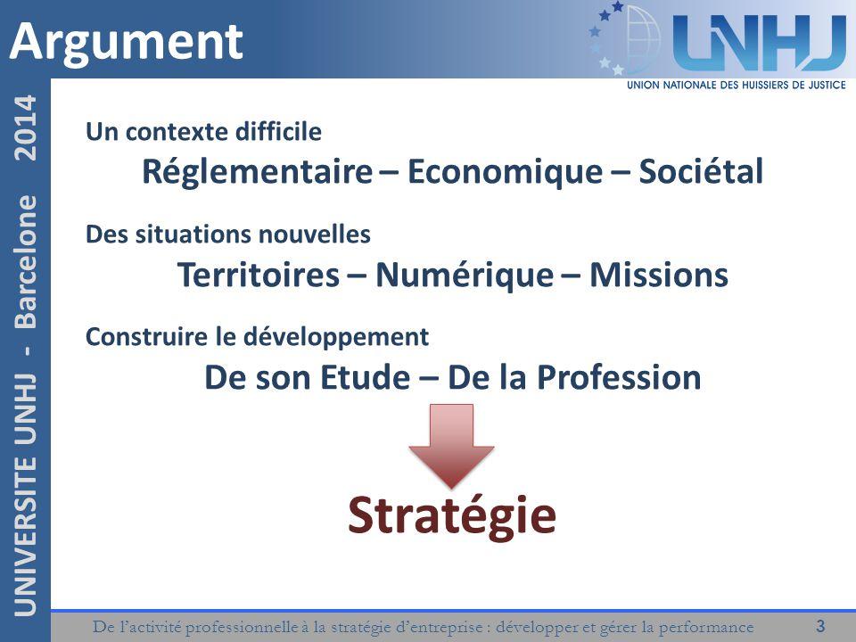 Argument Stratégie Réglementaire – Economique – Sociétal