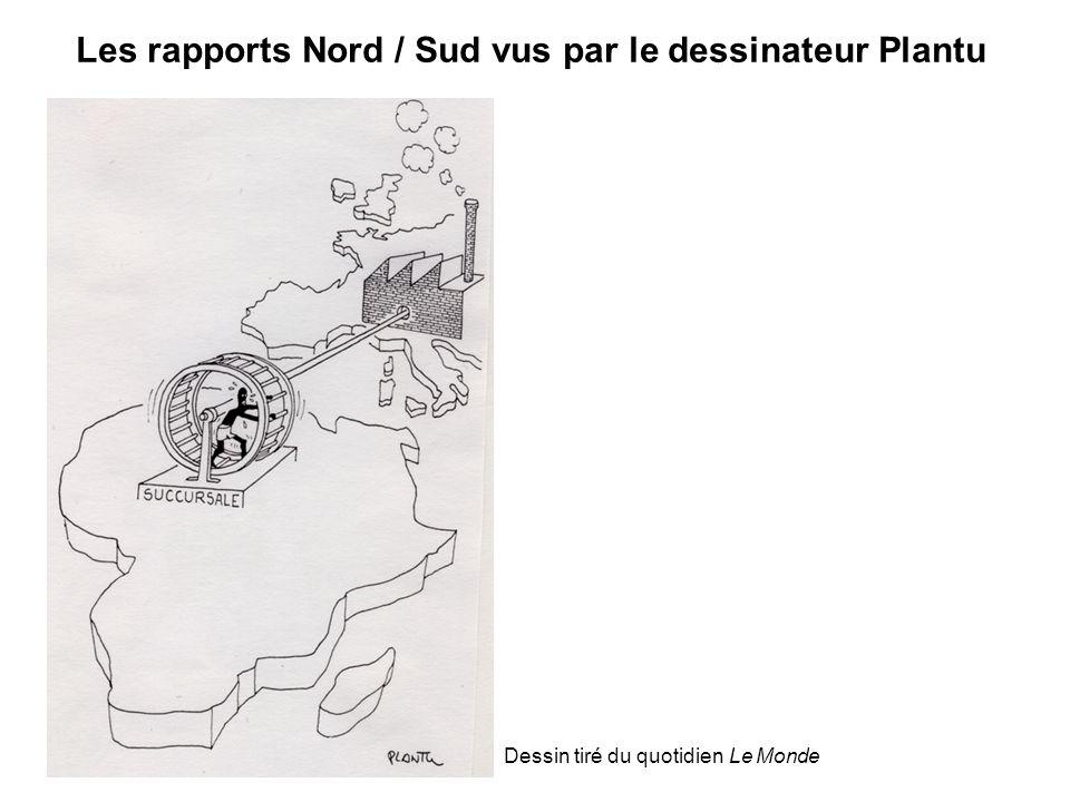 Les rapports Nord / Sud vus par le dessinateur Plantu
