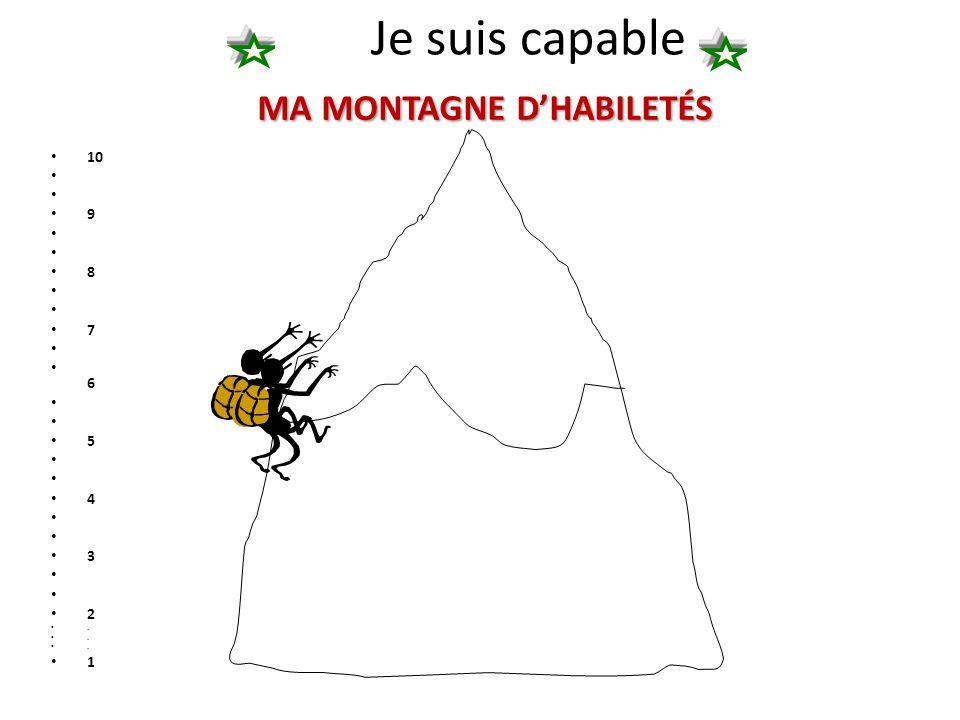 MA MONTAGNE D'HABILETÉS