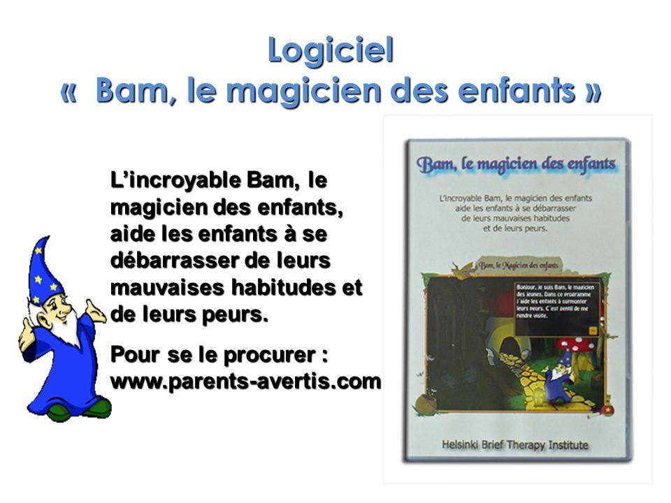 Logiciel « Bam, le magicien des enfants »