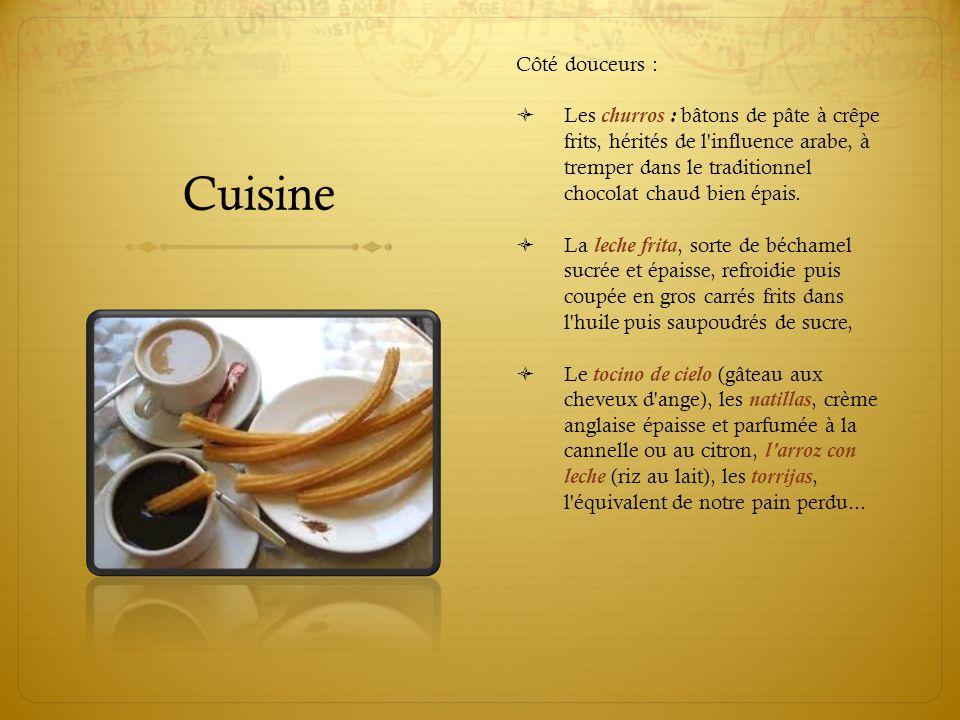 Cuisine Côté douceurs :