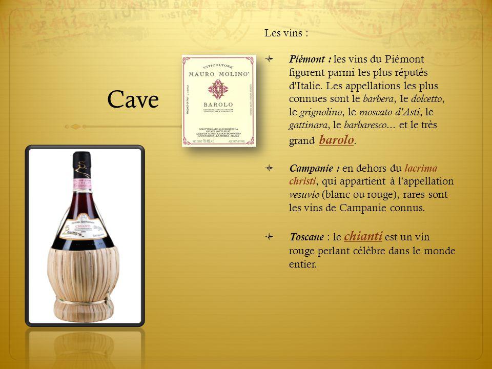 Cave Les vins :