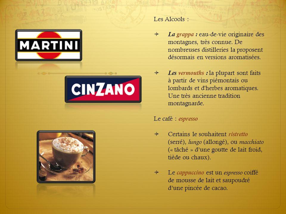 Les Alcools :