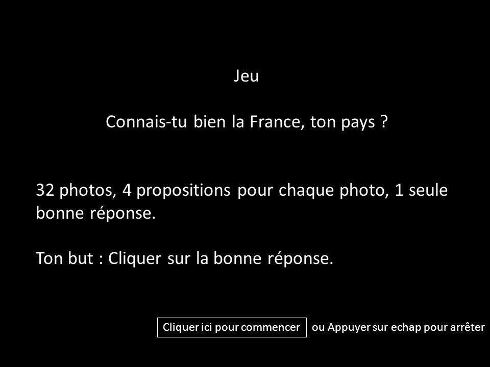 Connais-tu bien la France, ton pays