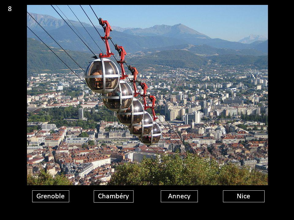 8 Grenoble Chambéry Annecy Nice