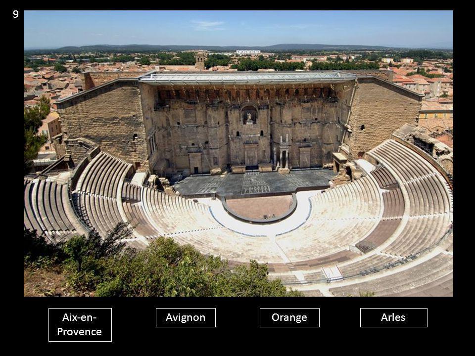 9 Aix-en-Provence Avignon Orange Arles