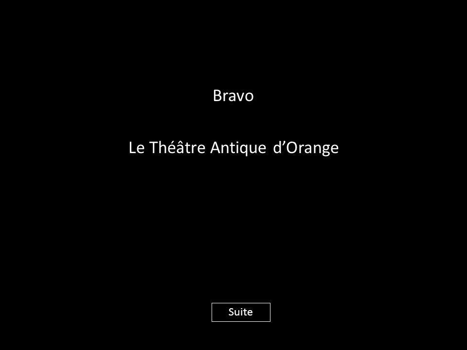 Bravo Le Théâtre Antique d'Orange