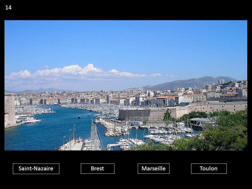 14 Saint-Nazaire Brest Marseille Toulon