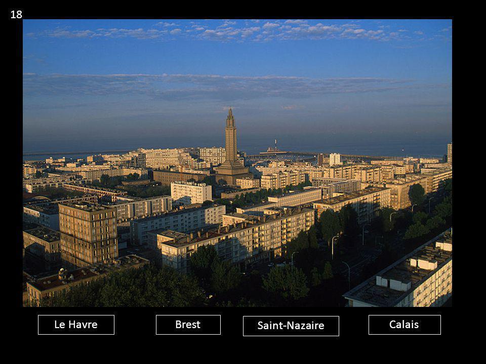 18 Le Havre Brest Saint-Nazaire Calais