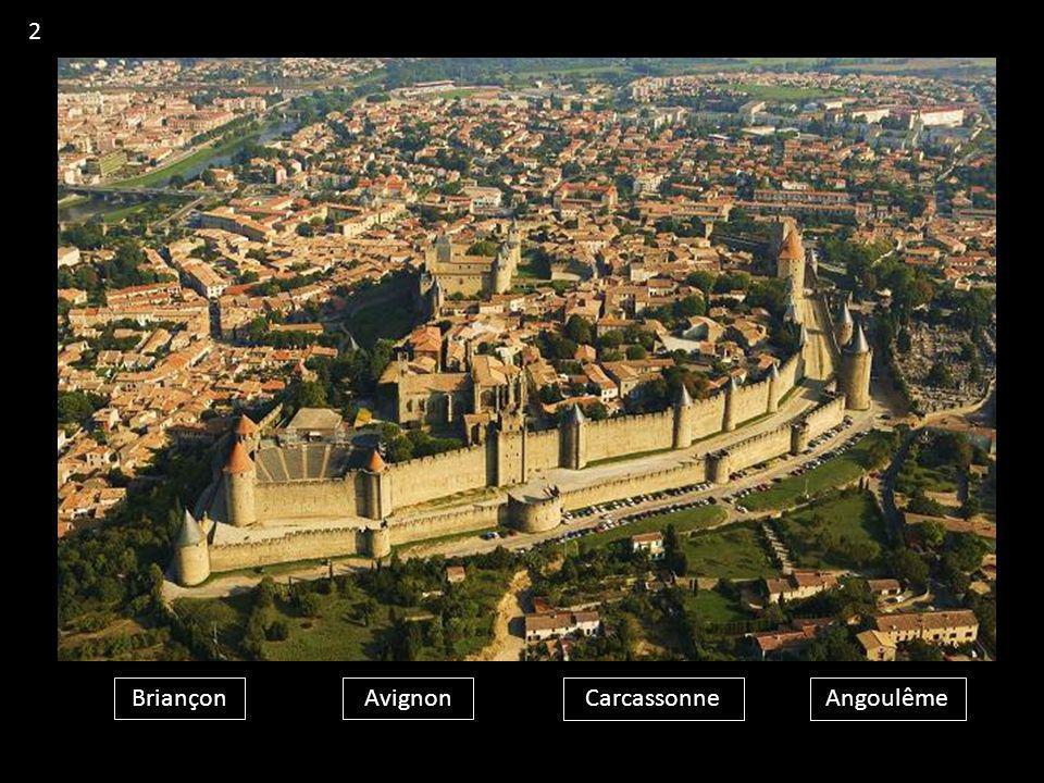 2 Briançon Avignon Carcassonne Angoulême