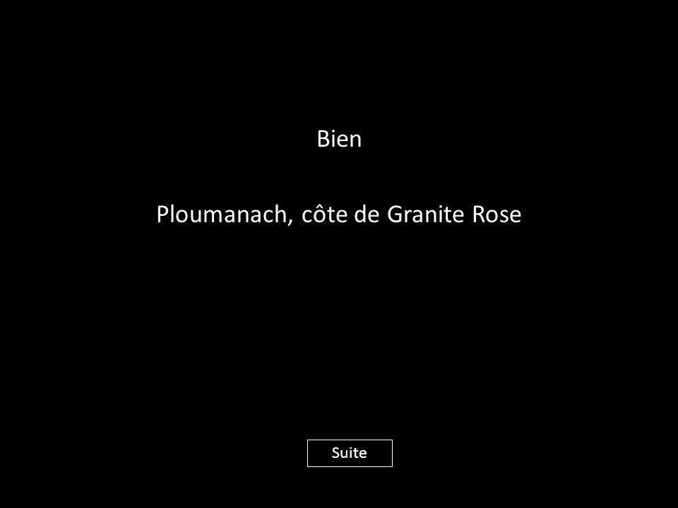 Bien Ploumanach, côte de Granite Rose
