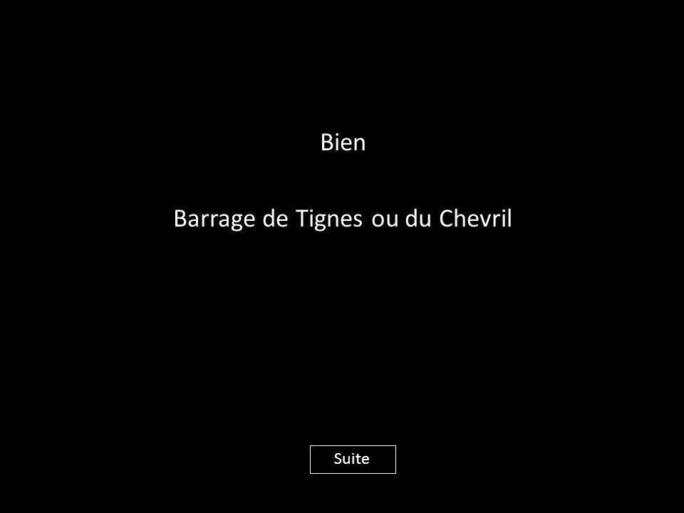Bien Barrage de Tignes ou du Chevril