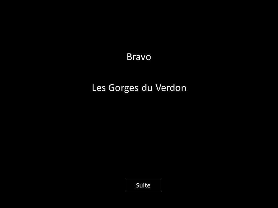 Bravo Les Gorges du Verdon