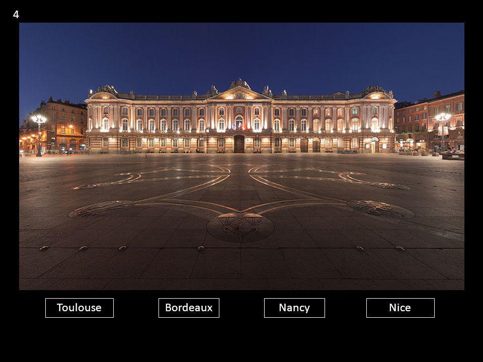 4 Toulouse Bordeaux Nancy Nice
