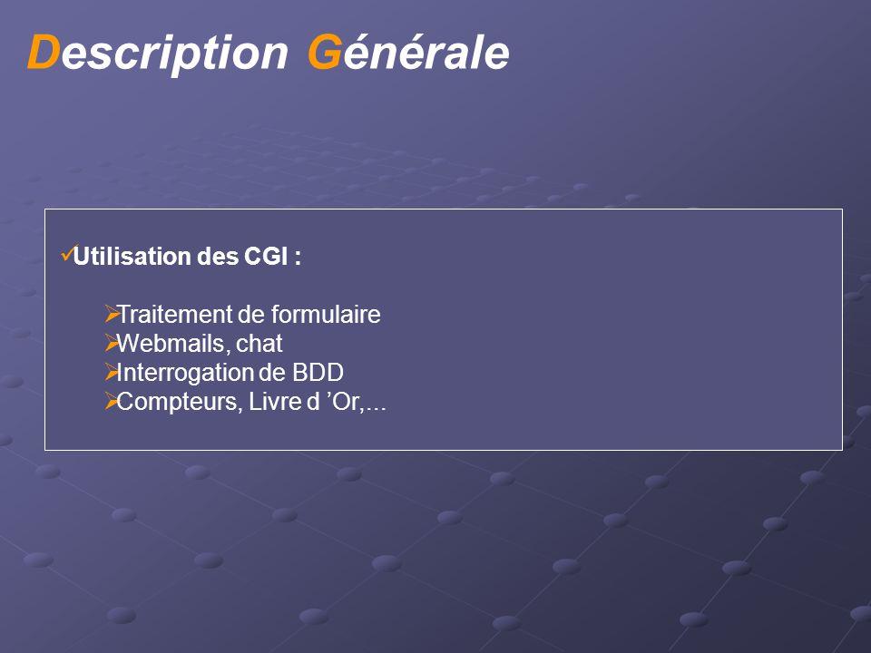Interaction Formulaire et CGI