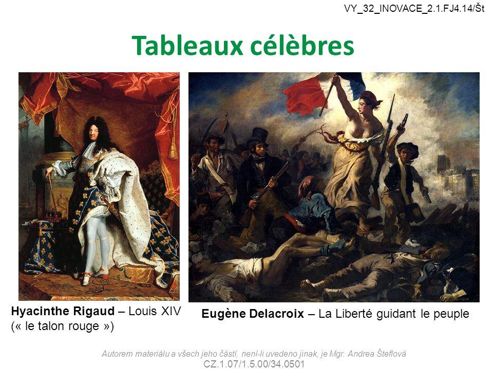 Tableaux célèbres Hyacinthe Rigaud – Louis XIV (« le talon rouge »)