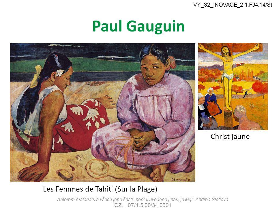 Paul Gauguin Christ jaune Les Femmes de Tahiti (Sur la Plage)