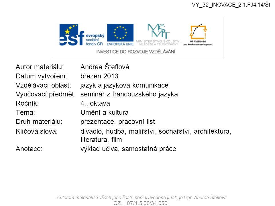 VY_32_INOVACE_2.1.FJr.01/Št VY_32_INOVACE_2.1.FJ4.14/Št.