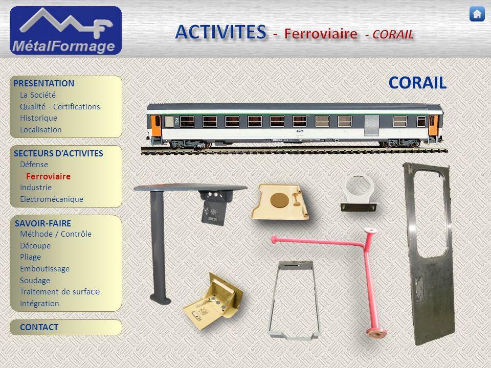 ACTIVITES - Ferroviaire - CORAIL