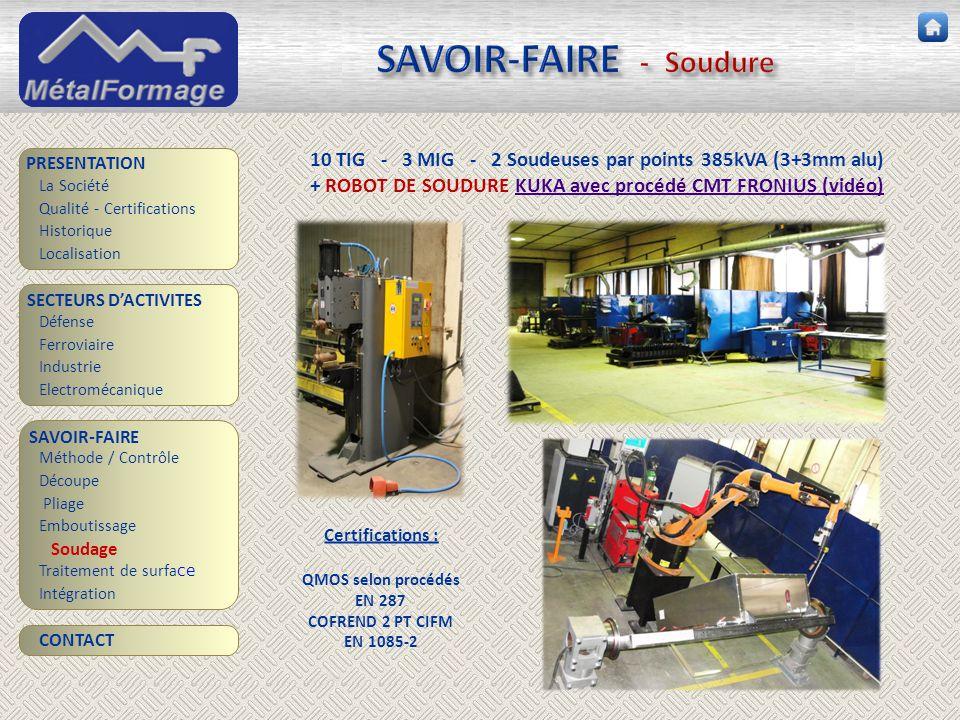 SAVOIR-FAIRE - Soudure