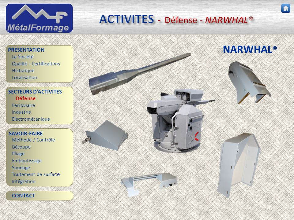 ACTIVITES - Défense - NARWHAL®