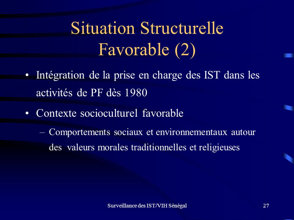 Situation Structurelle Favorable (2)