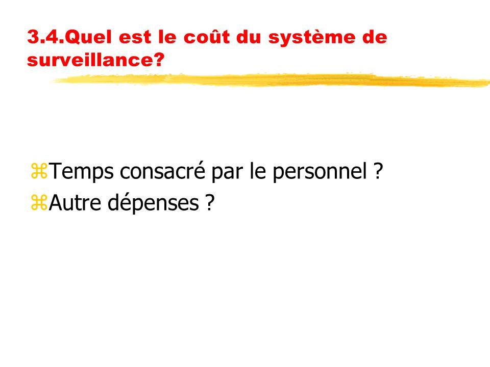 3.4.Quel est le coût du système de surveillance