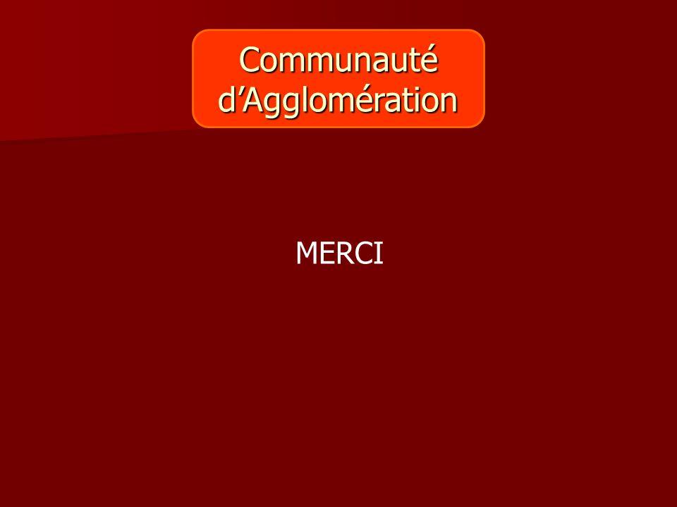 Communauté d'Agglomération MERCI