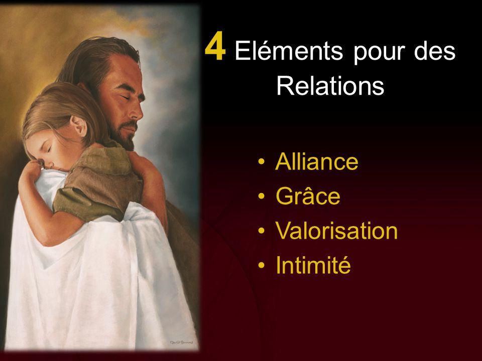 4 Eléments pour des Relations