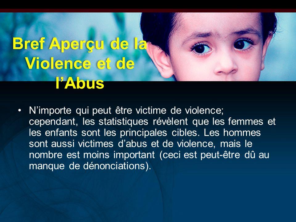 Bref Aperçu de la Violence et de l'Abus