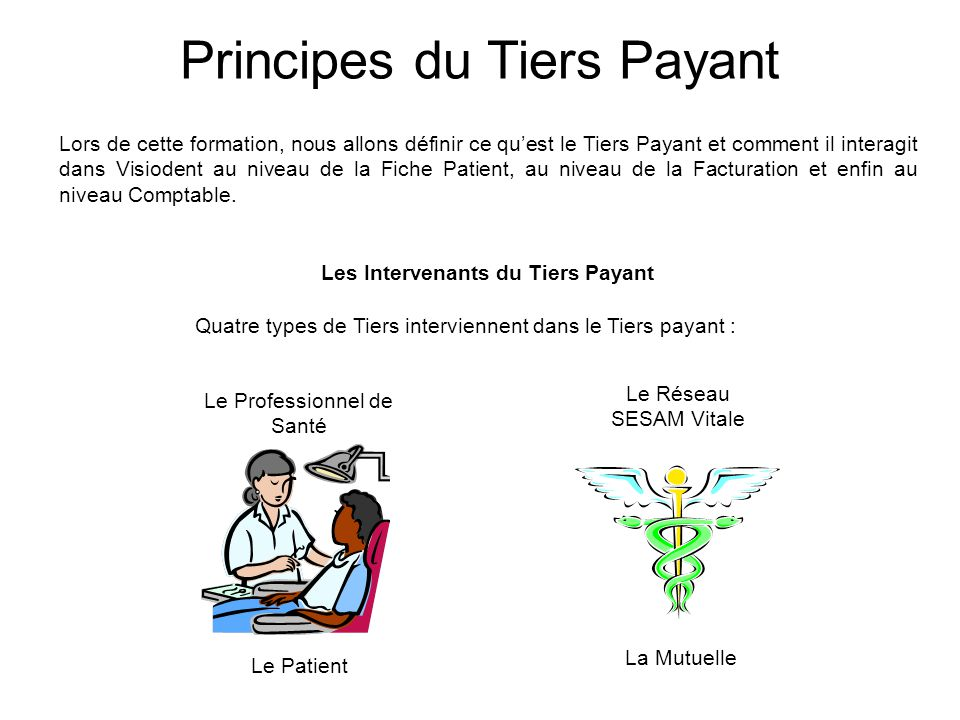 Les Intervenants du Tiers Payant