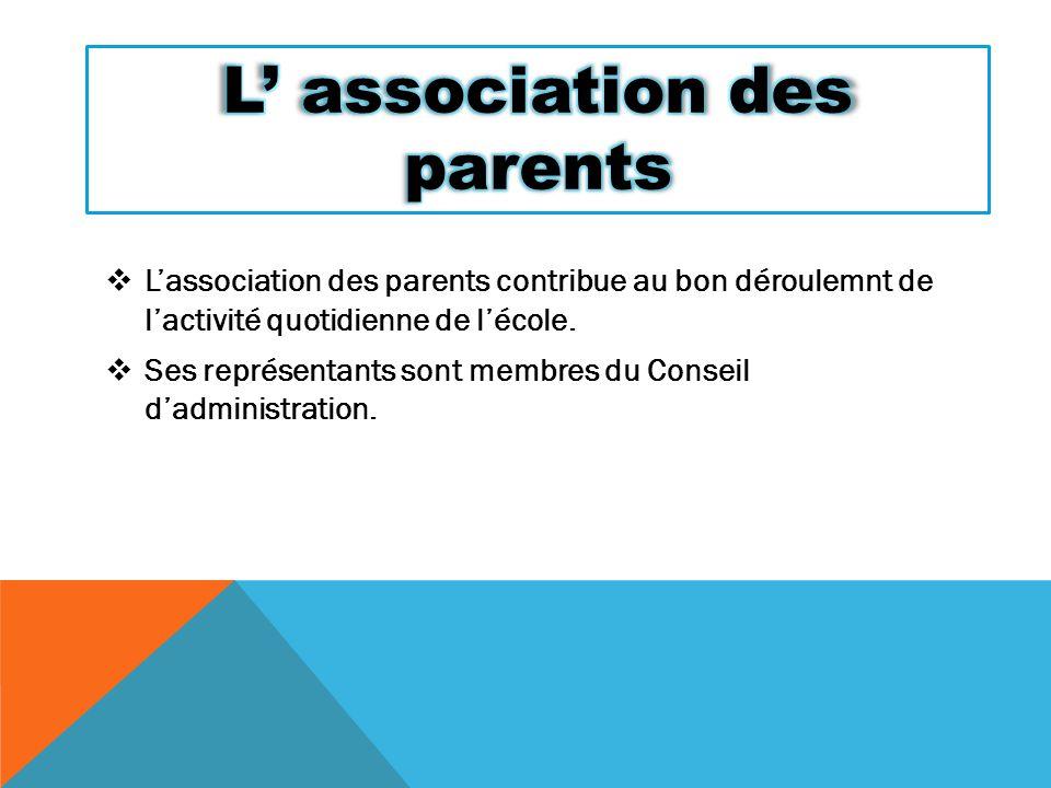 L' association des parents