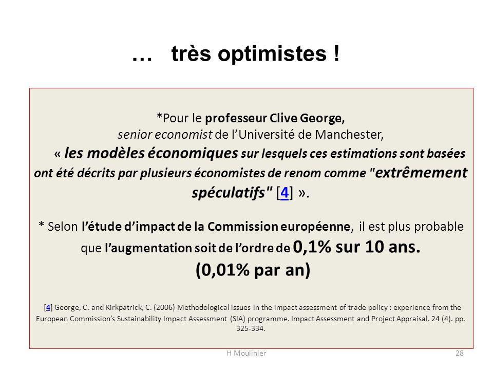 … très optimistes !