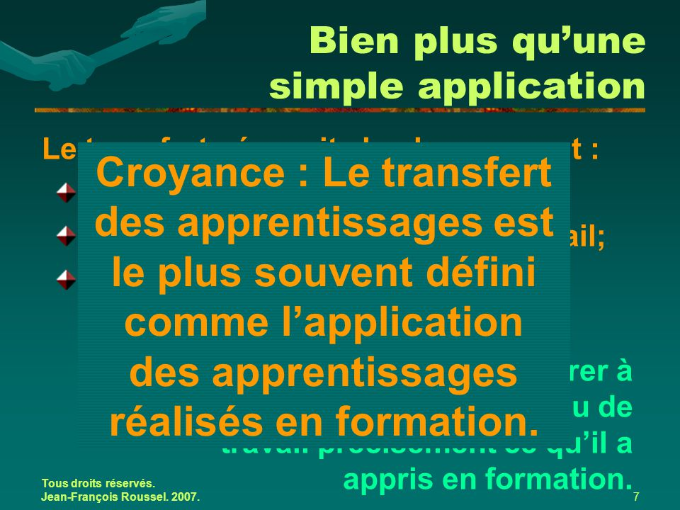 Bien plus qu'une simple application