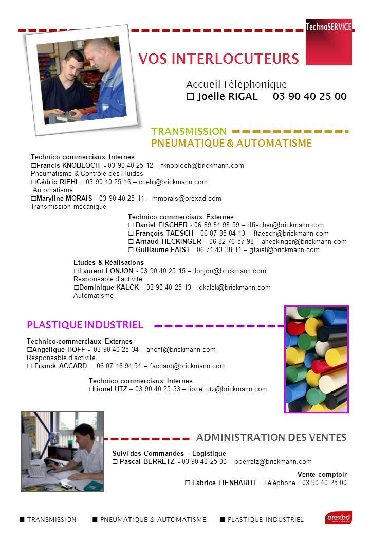  TRANSMISSION  PNEUMATIQUE & AUTOMATISME  PLASTIQUE INDUSTRIEL