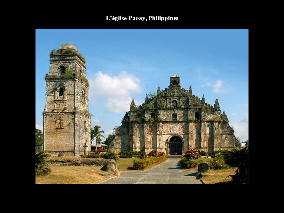 L'église Paoay, Philippines