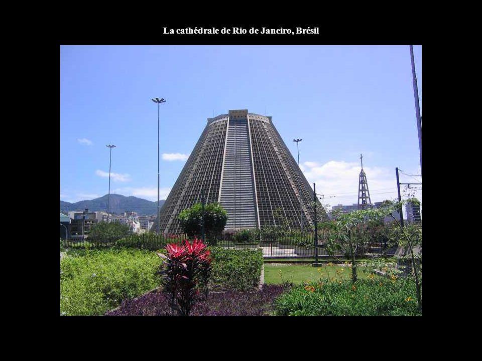 La cathédrale de Rio de Janeiro, Brésil