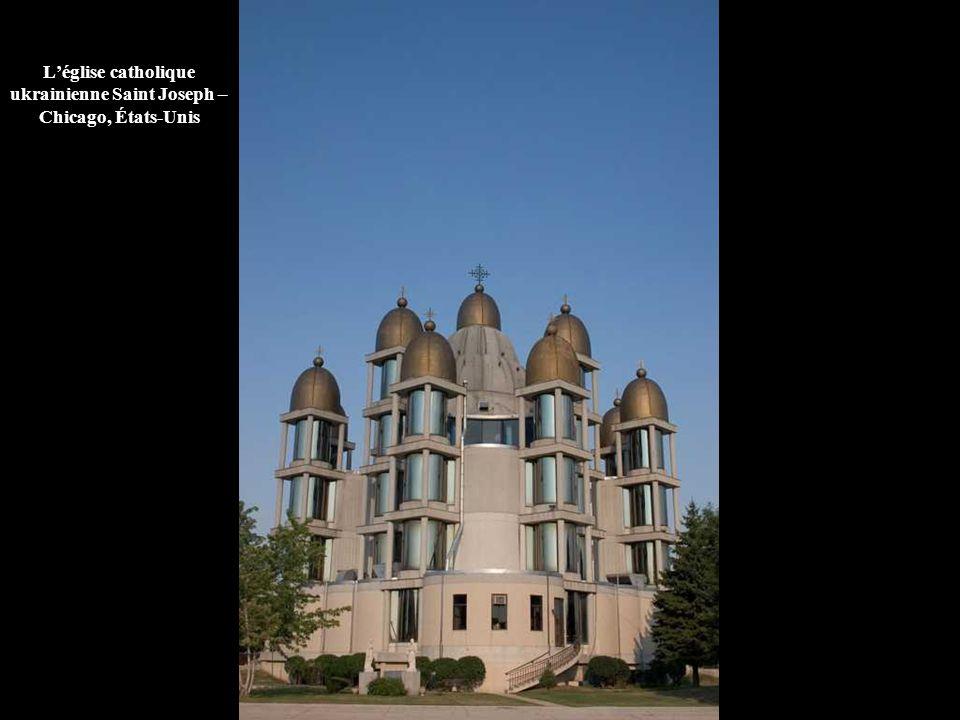 L'église catholique ukrainienne Saint Joseph – Chicago, États-Unis
