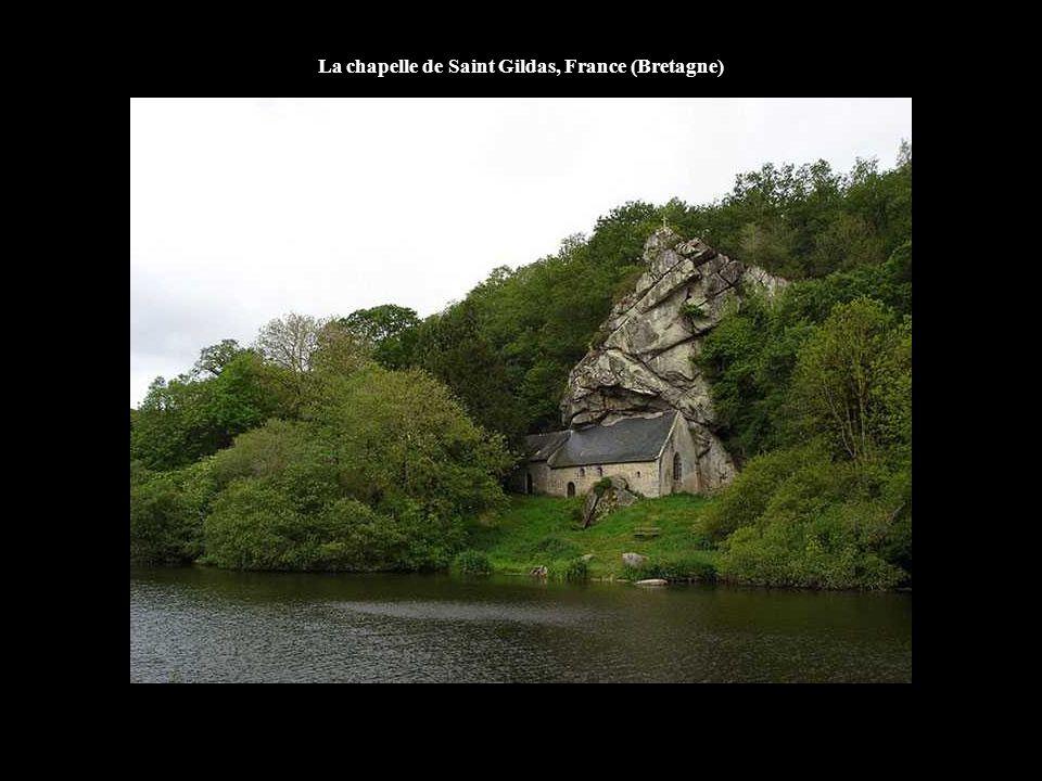 La chapelle de Saint Gildas, France (Bretagne)