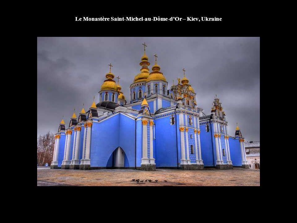 Le Monastère Saint-Michel-au-Dôme-d'Or – Kiev, Ukraine