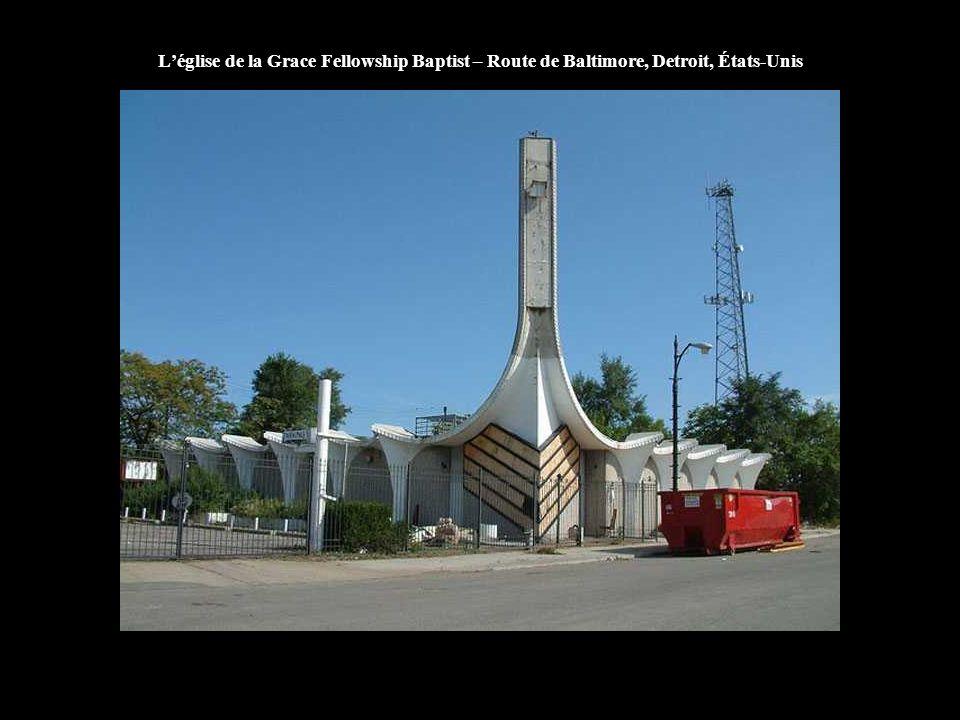 L'église de la Grace Fellowship Baptist – Route de Baltimore, Detroit, États-Unis