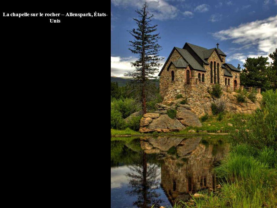 La chapelle sur le rocher – Allenspark, États-Unis