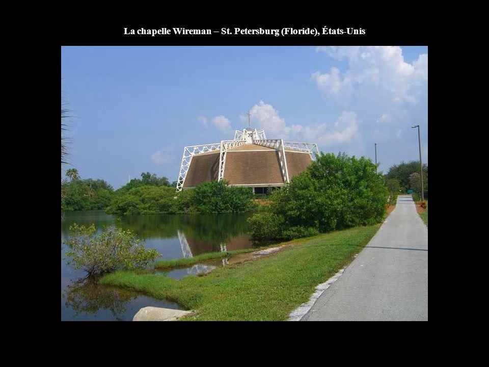 La chapelle Wireman – St. Petersburg (Floride), États-Unis